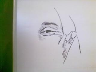 Eulina Jó - caneta esferográfica by Fabrício Sant'Ana