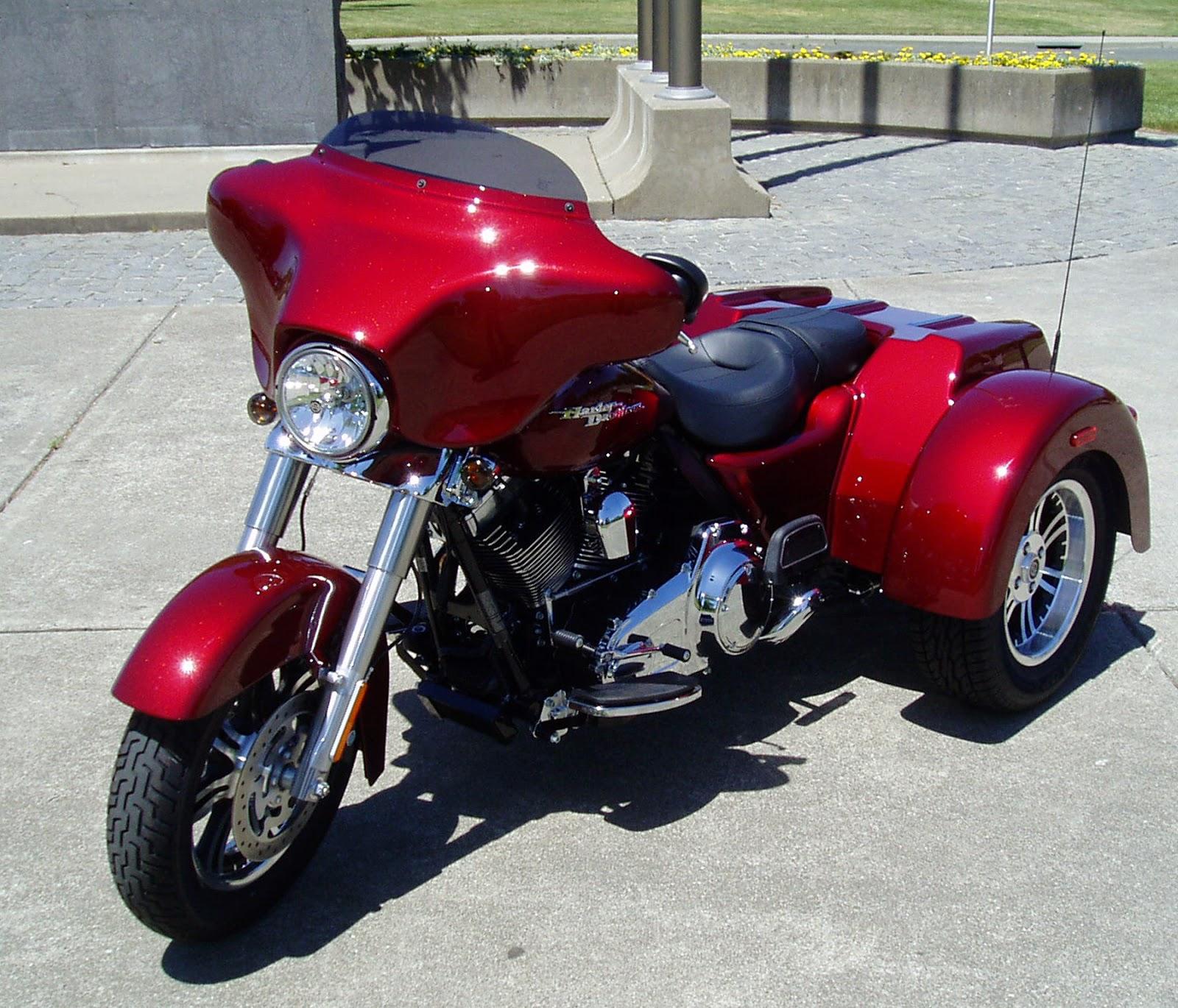 Harley Davidson Trike Flhxxx Motorcycles Photos