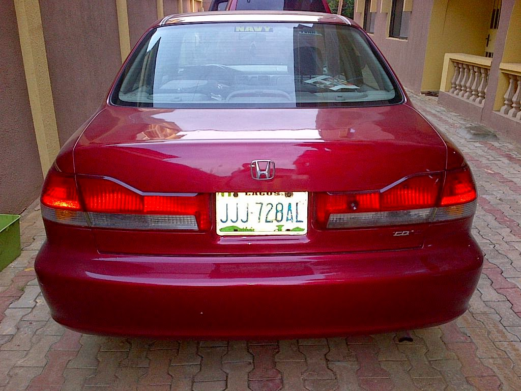 VERY NEAT REGISTERED*** Honda Accord 2002Model For Sale In Lagos ...