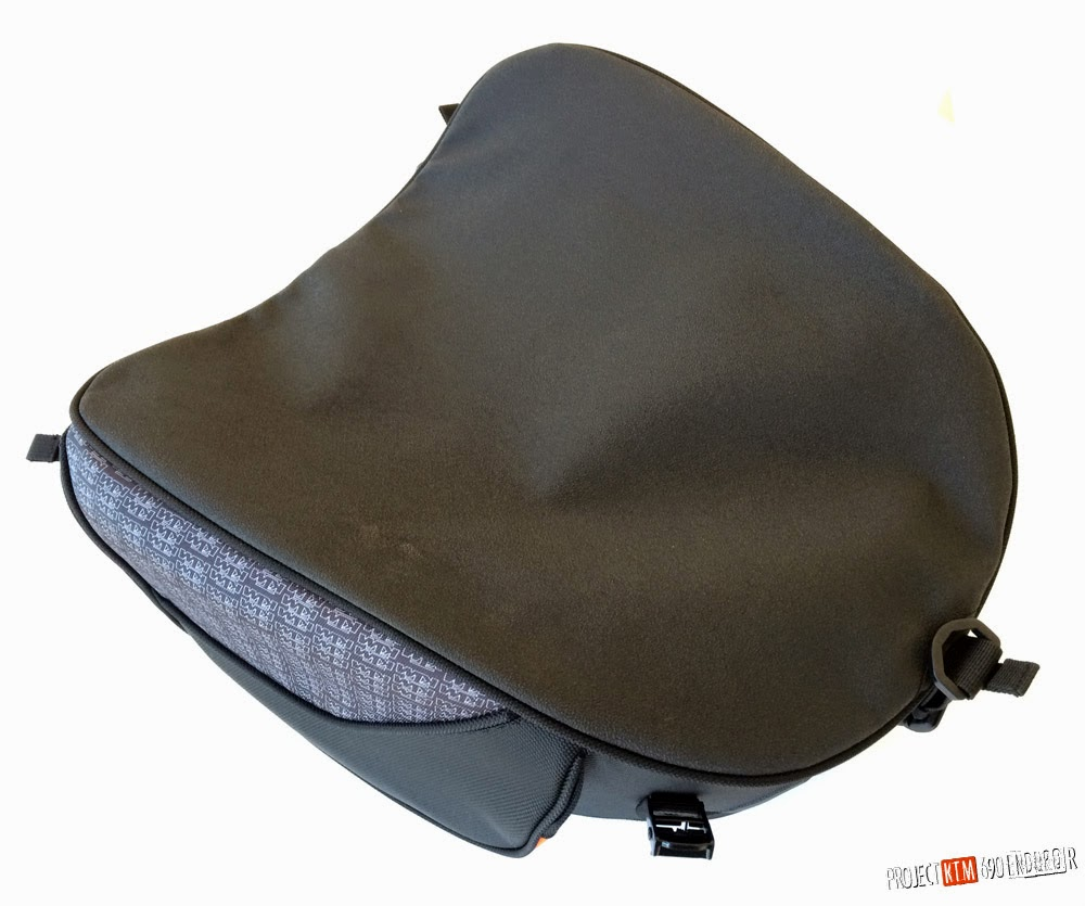 KTM powerparts large rear bag bottom