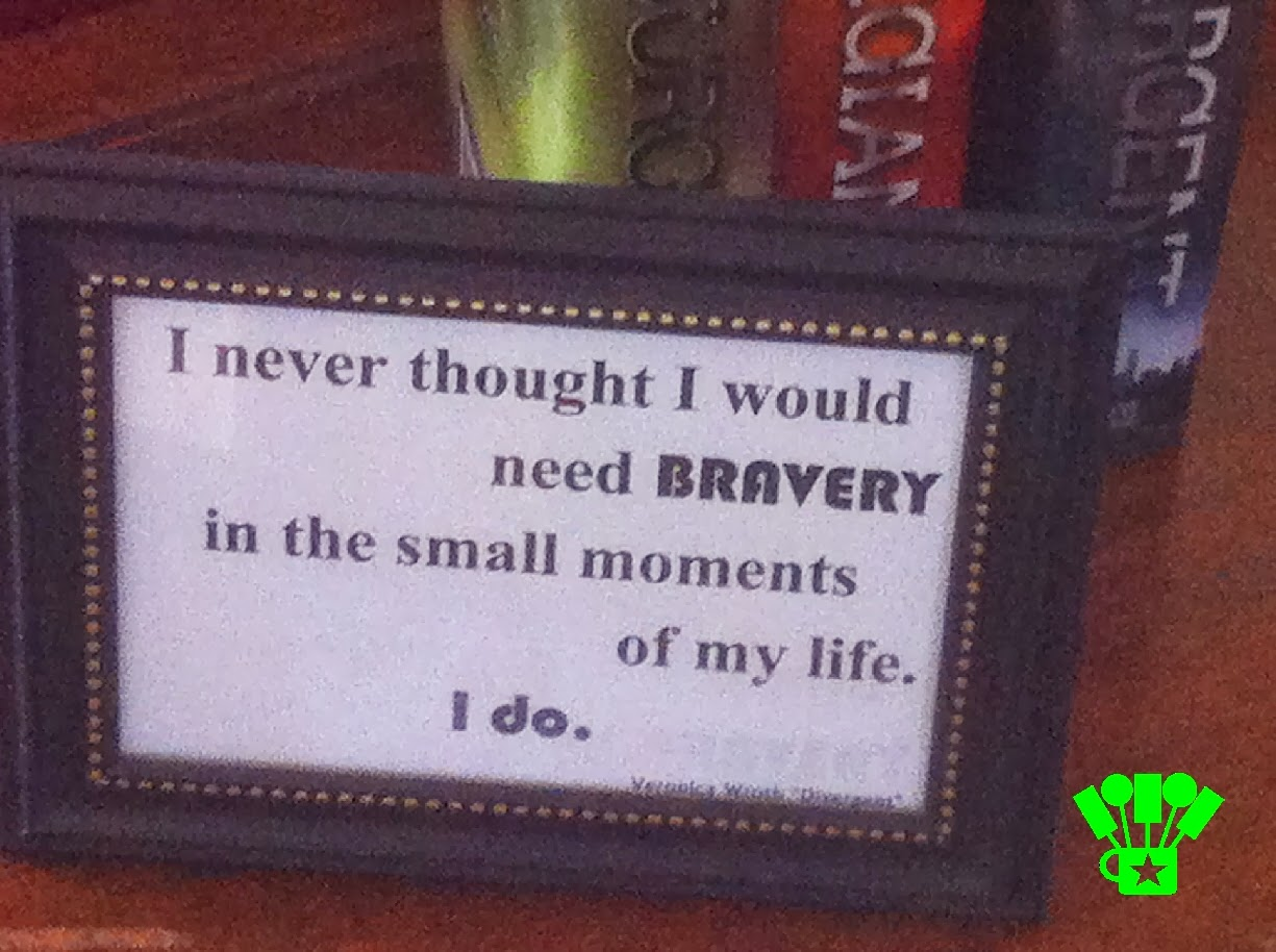 Need Bravery in the Small Moments Divergent Printable