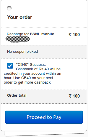 Paytm mobile recharge coupons