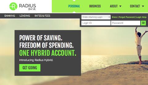 Accueil Radius Bank
