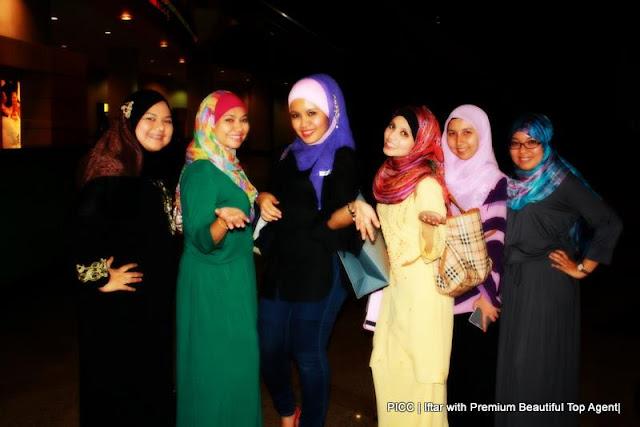 Majlis Iftar di PICC bersama rakan kongsi zahirine GLG dalam Premium Beautiful Corset business