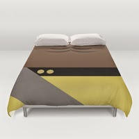 Lt. Commander Worf - Star Trek: The Next Generation Duvet Covers