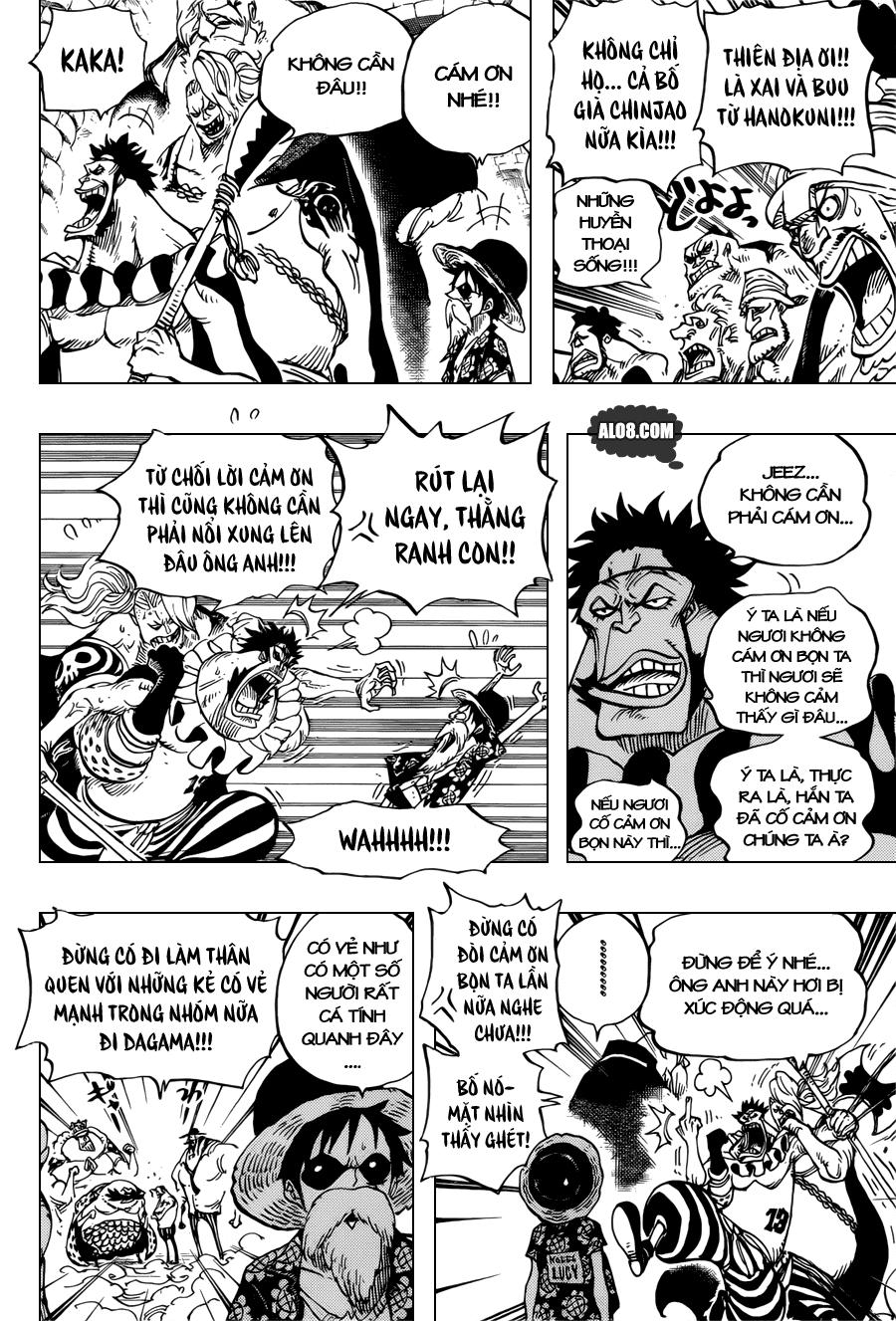 One Piece Chapter 704: Lucy và bức tượng của Kyros 004