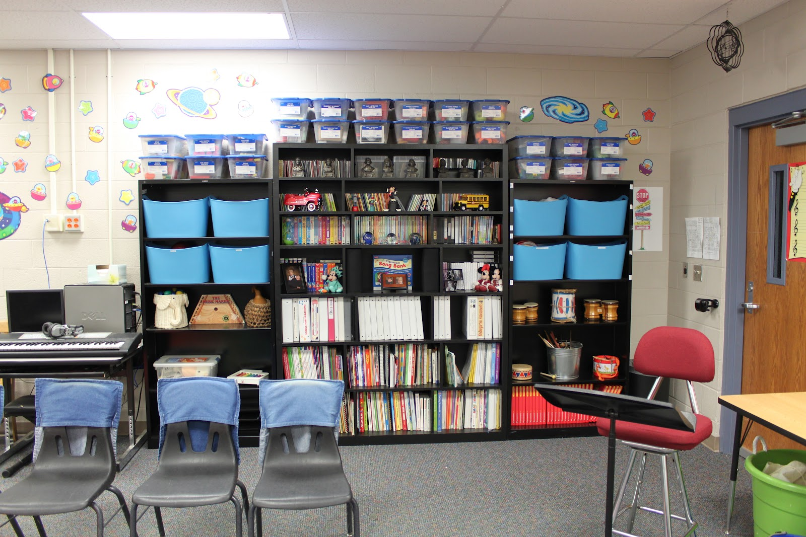 Music Classroom Design Ideas ~ Made for music teachers setting up a classroom