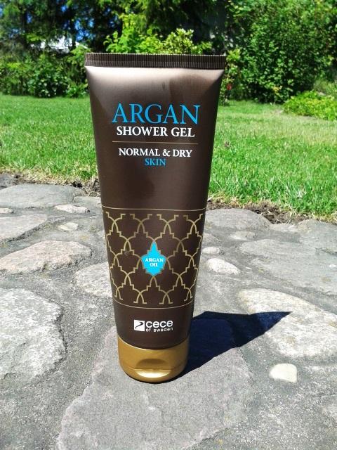 Argan shower gel - CeCe of Sweden .