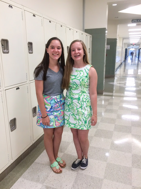 lilly pulitzer mila first day of school high school