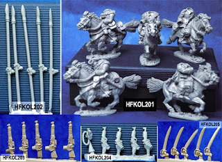 Hasslefree Miniatures Kolektiv Dwarves Mounted Troops