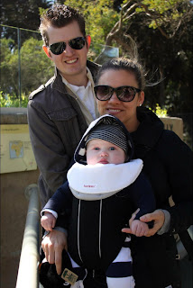 The Bennett Family at the Zoo