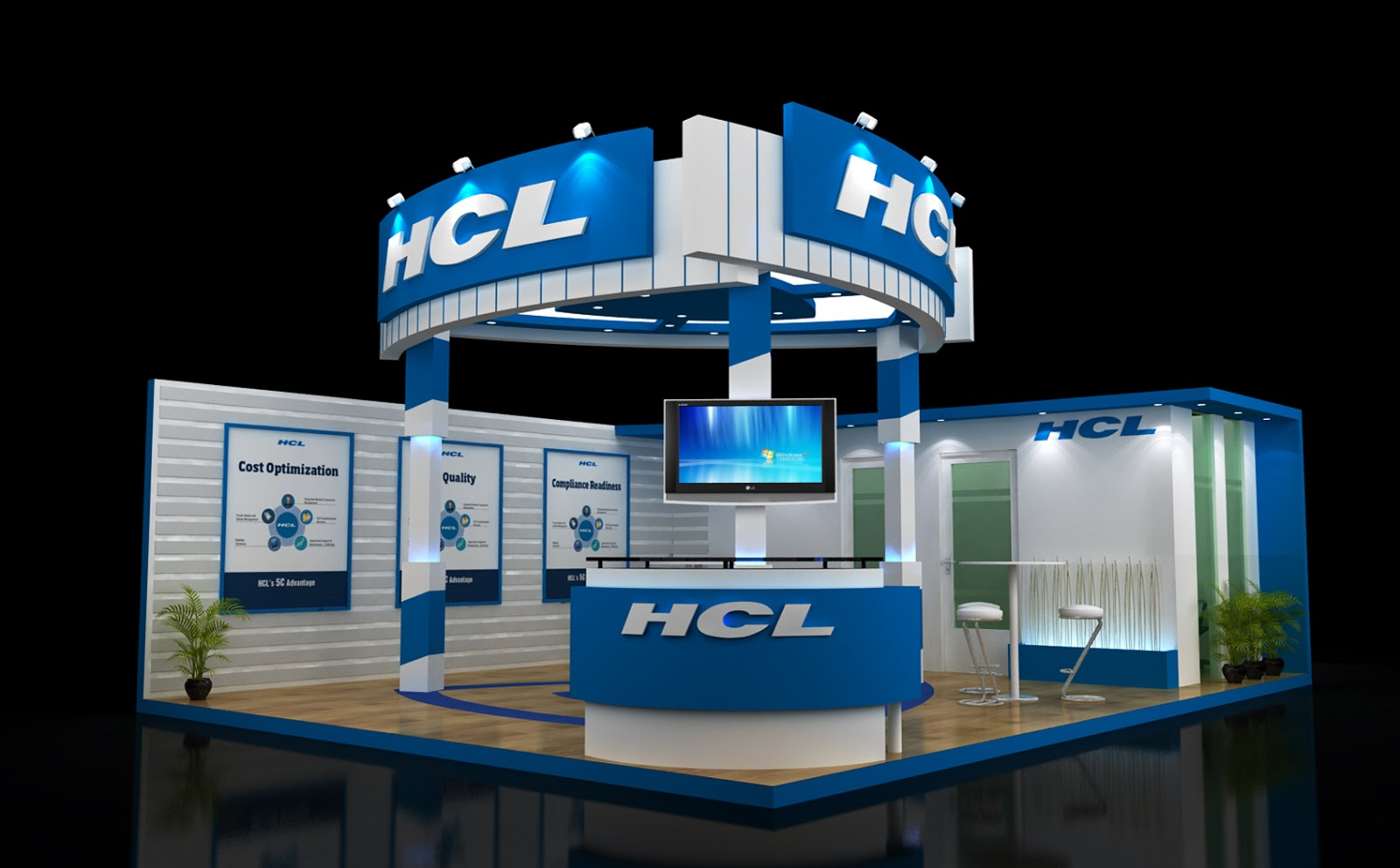 Custom Exhibition Stand Design : Custom exhibition stand design chetan d designer