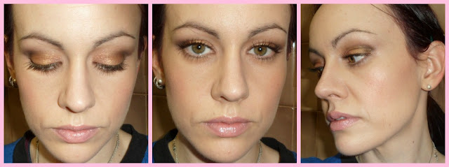 Maquillaje tonos naturales con la paleta Vice