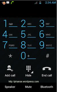 ICS 4.0.3 Dial