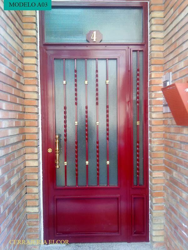realizamos puertas de entrada tanto para comunidad como para cerradura tipo ganchocon portero decida el modelo este u with modelos de puertas metalicas para