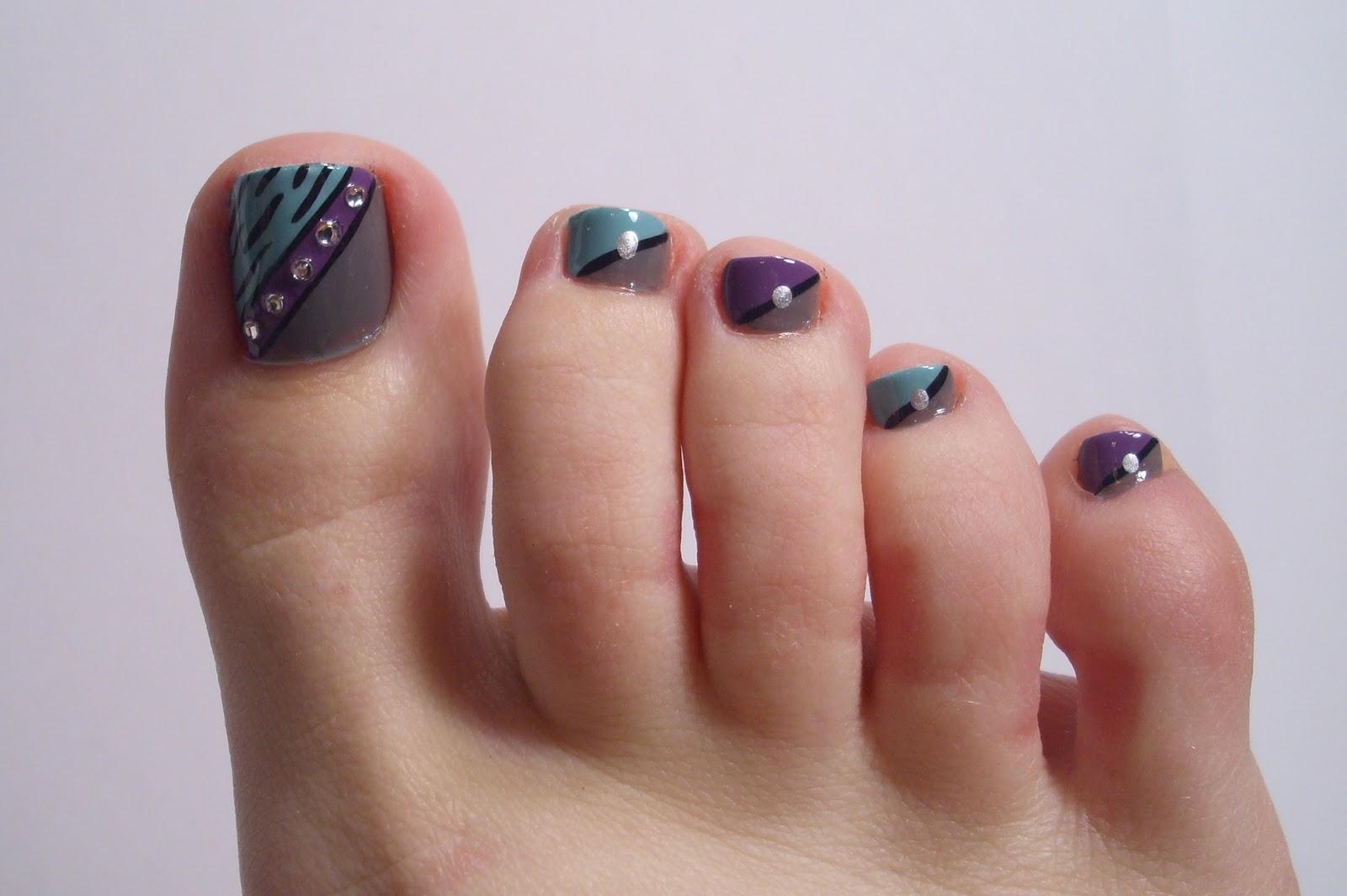 Lindos dise os de u as para pies bonitas hermosas for Disenos de unas de pies