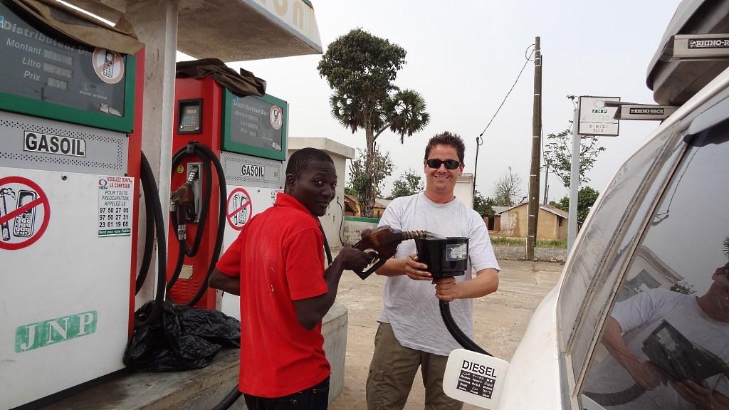 Mit dem MrFunnel auf der Transafrika