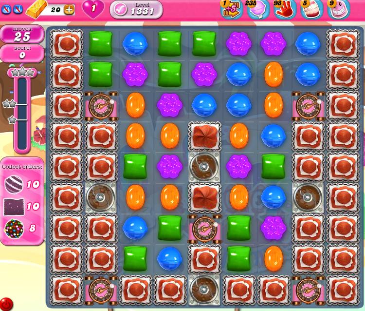Candy Crush Saga 1331