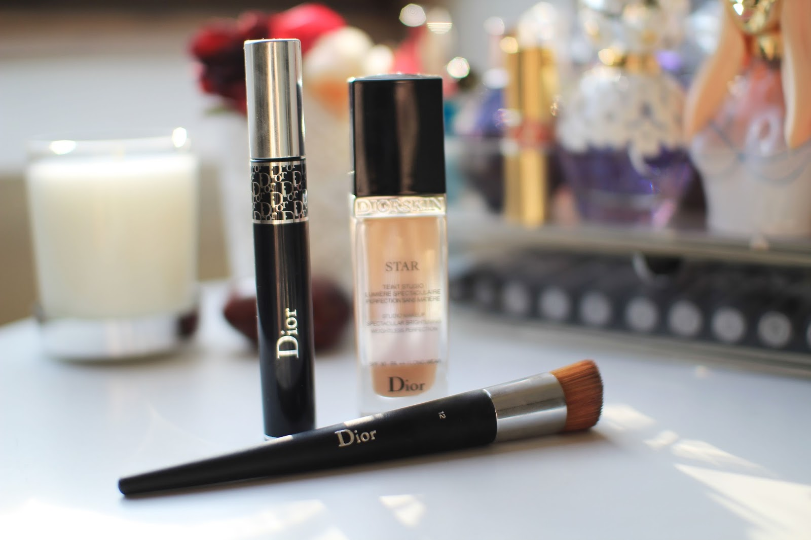 The Diorskin Star Foundation and Diorshow Mascara