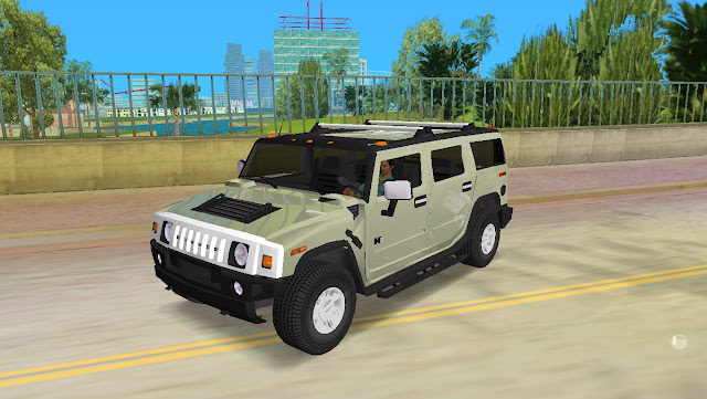 AMG Hummer H2 SUV 2003 - GTA Vice City