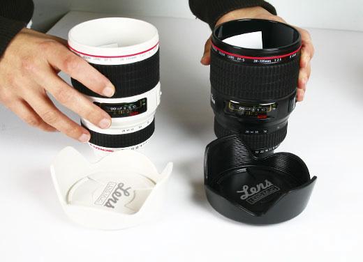 10 maneiras de reciclar lentes fotográficas pote