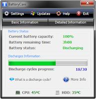 Download BatteryCare, Tool Untuk Membuat Baterai Laptop Anda Lebih Tahan Lama!