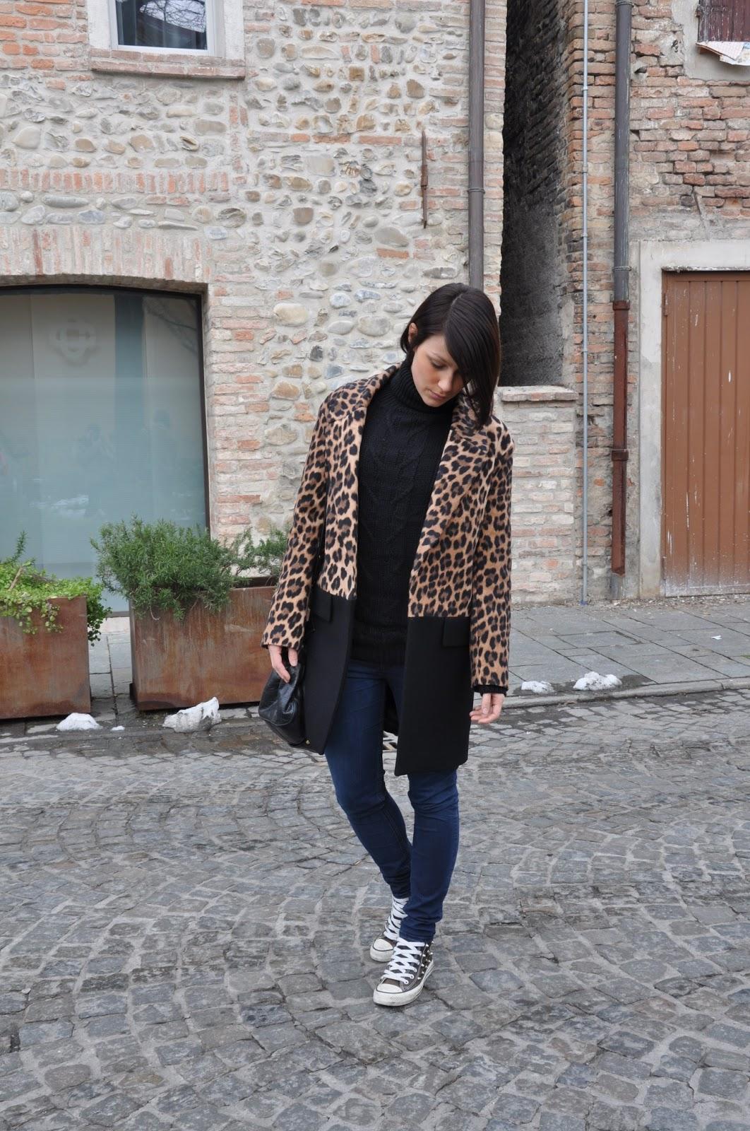 In leopard print - ToBeMe