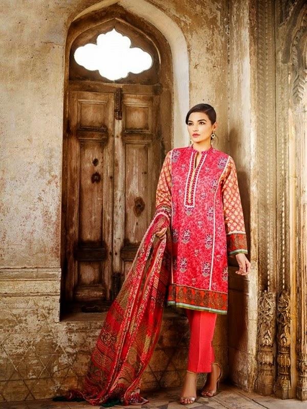 New Khaadi Spring Formal Wear Dresses 2015 6