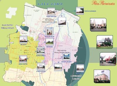 Peta Wisata Kota Pekalongan
