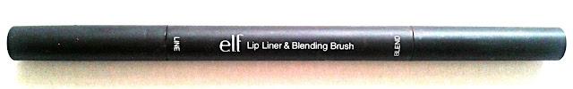 Elf Lip Liner and Blending Brush in Wine