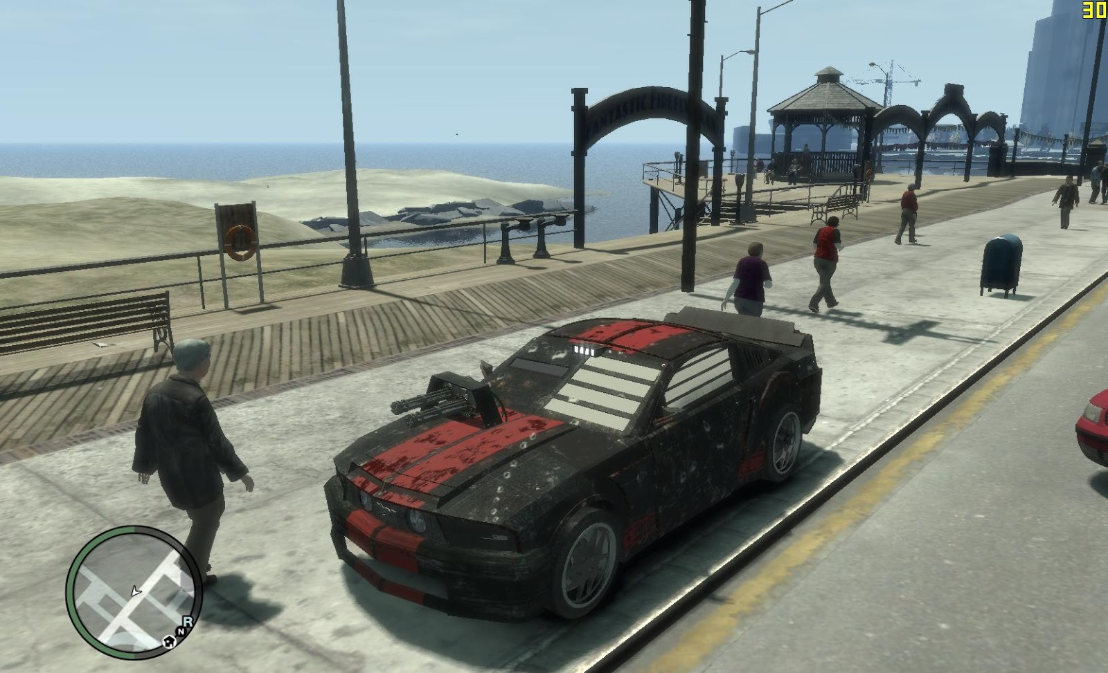 Gta X Scripting Death Race Car Vigilante Style W I P