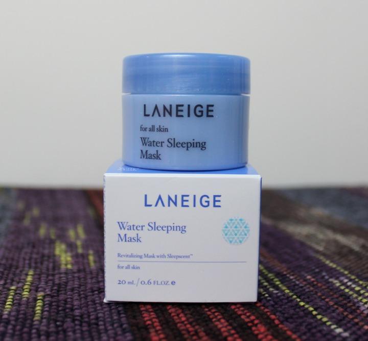 Laneige Water Sleeping Mask Water Bank Sleeping pack sample jar