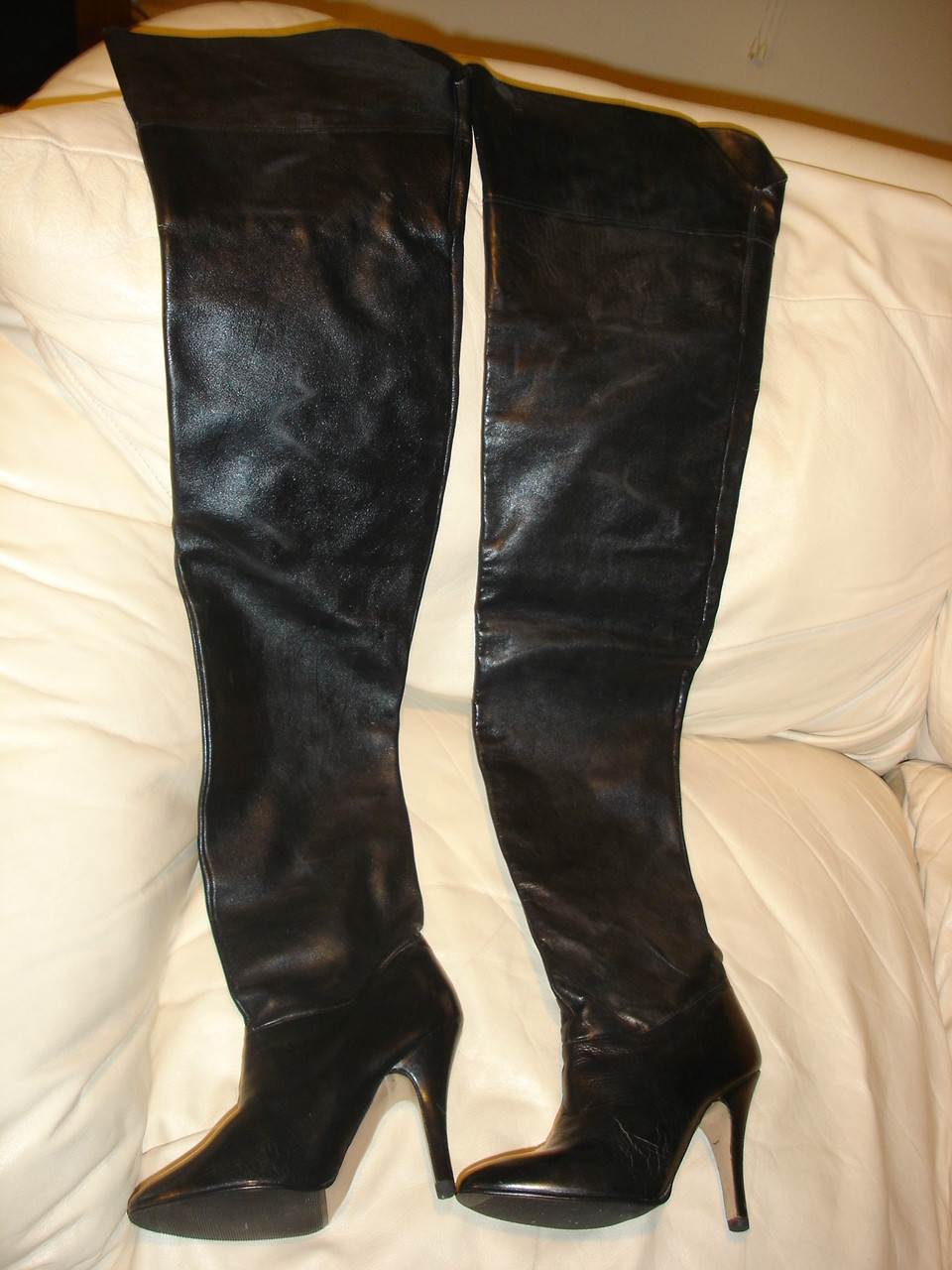eBay Leather: Vintage Wild Pair crotch boots continue to sell well!