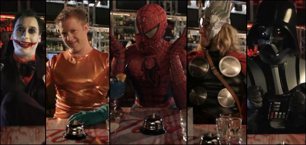Super Heróis e Super Vilões - Speed Dating
