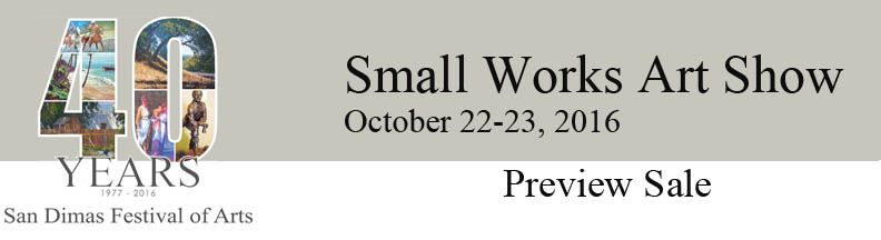 Small Art Works Show-Preview Sale