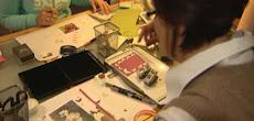 Eine Stempelparty/Kreativ-Workshop veranstalten