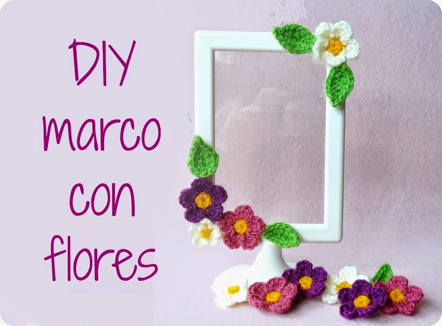 Flores para regalar manualidades - Decorar con marcos de fotos ...