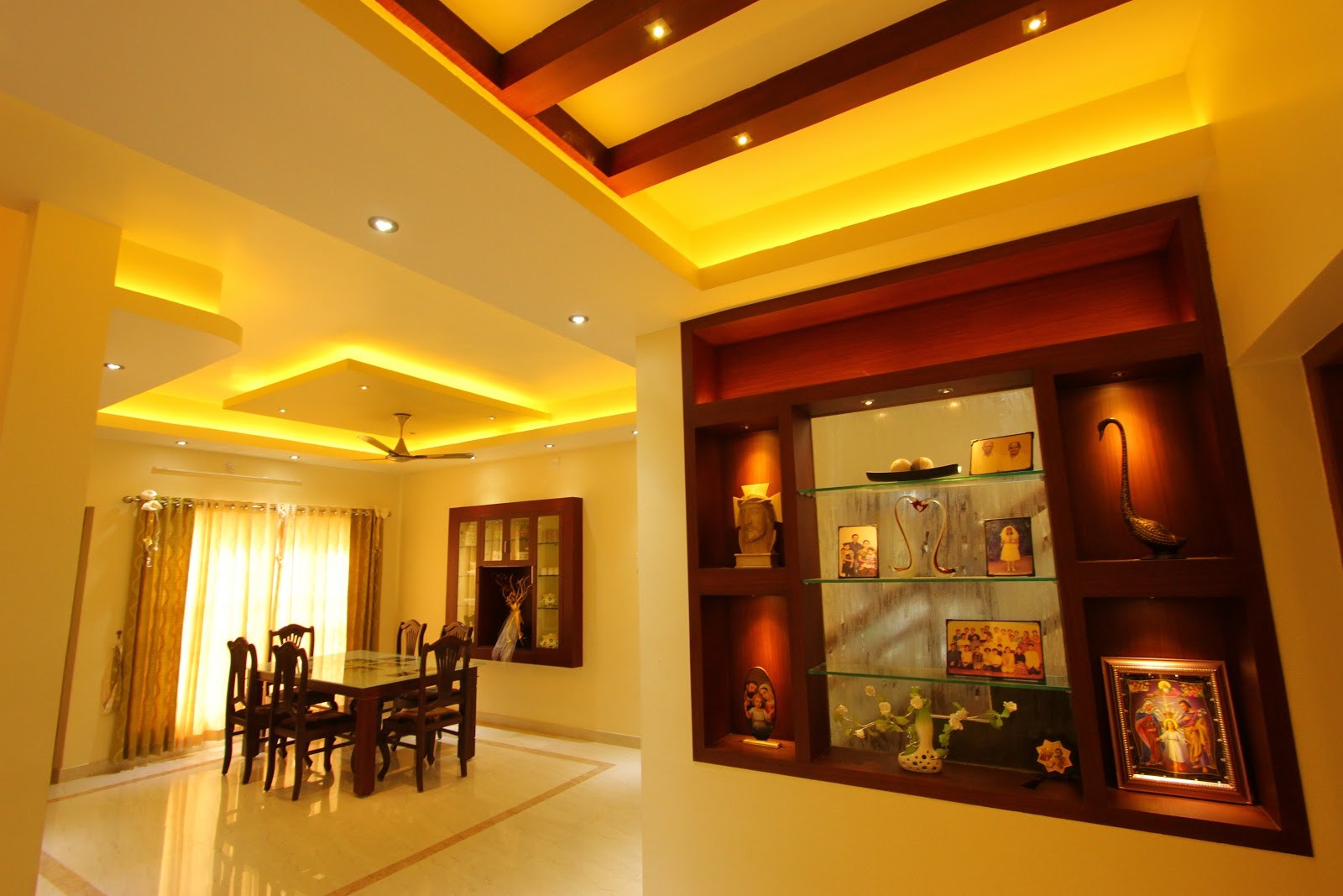 Shilpakala interiors award winning home interior design for Kerala house interior arch design