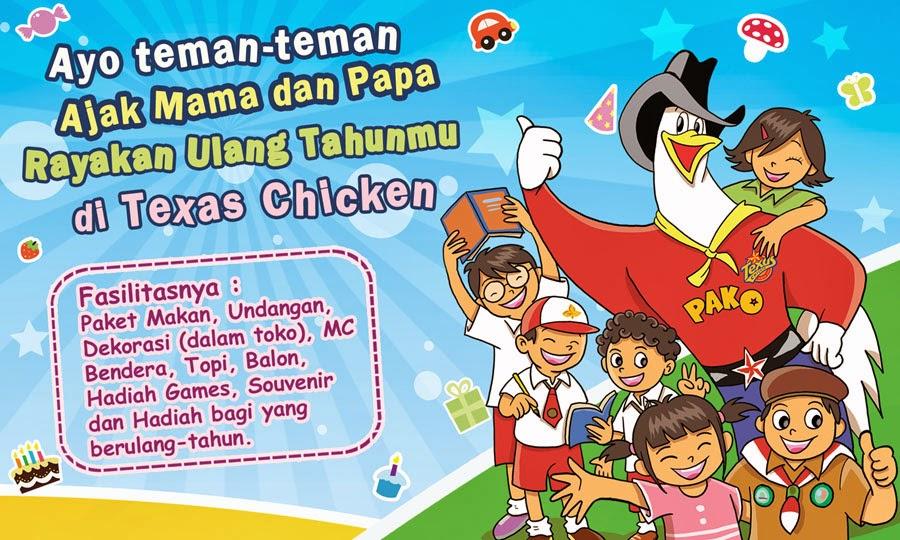 paket ulang tahun texas fried chiken, paket ulang tahun anak texas fried chicken, paket ultah anak di texas fried chicken, paket ultah anak di texas fried chicken terbaru di indonesia,