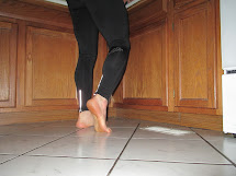 Barefoot Running Takes Thief