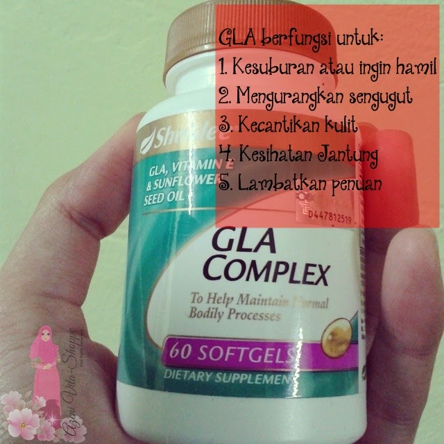 Kegunaan GLA kepada wanita