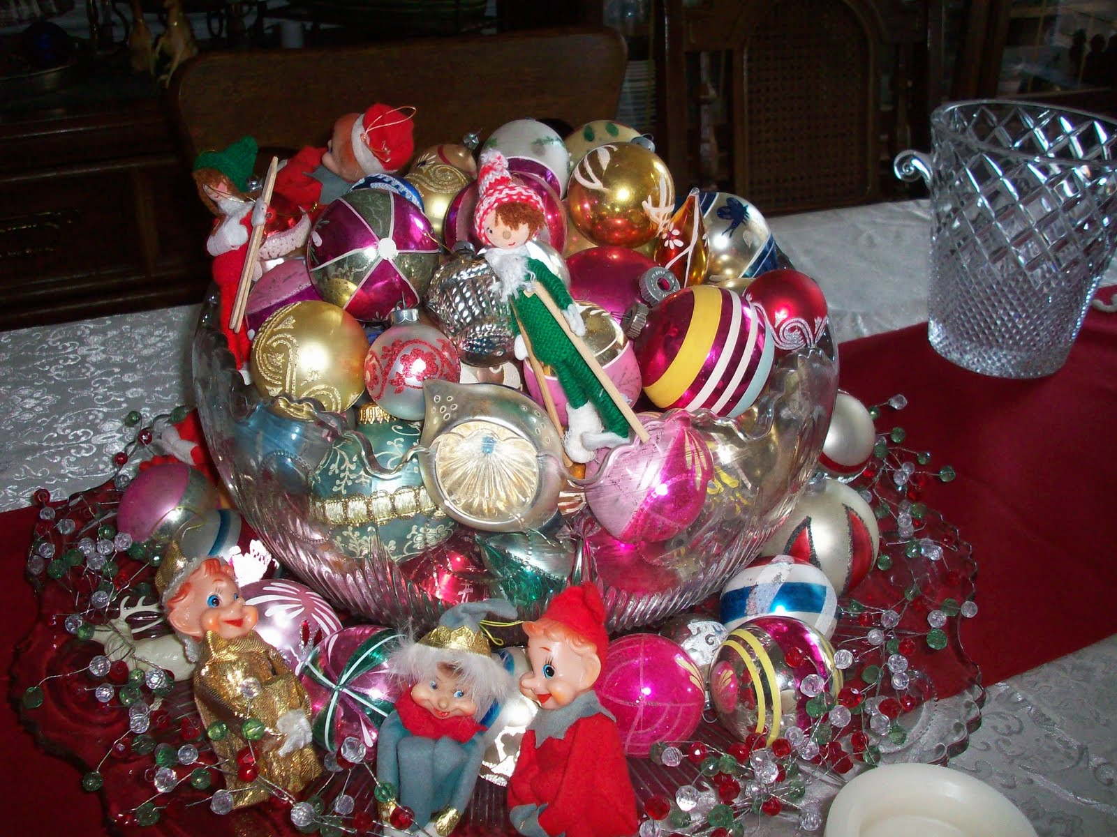 There's Another Stunning Bowl Of Ornaments