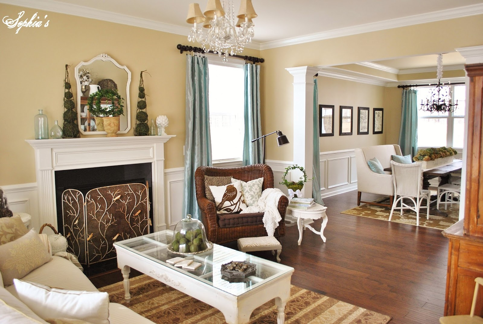 Living Room and Dining Room Colors