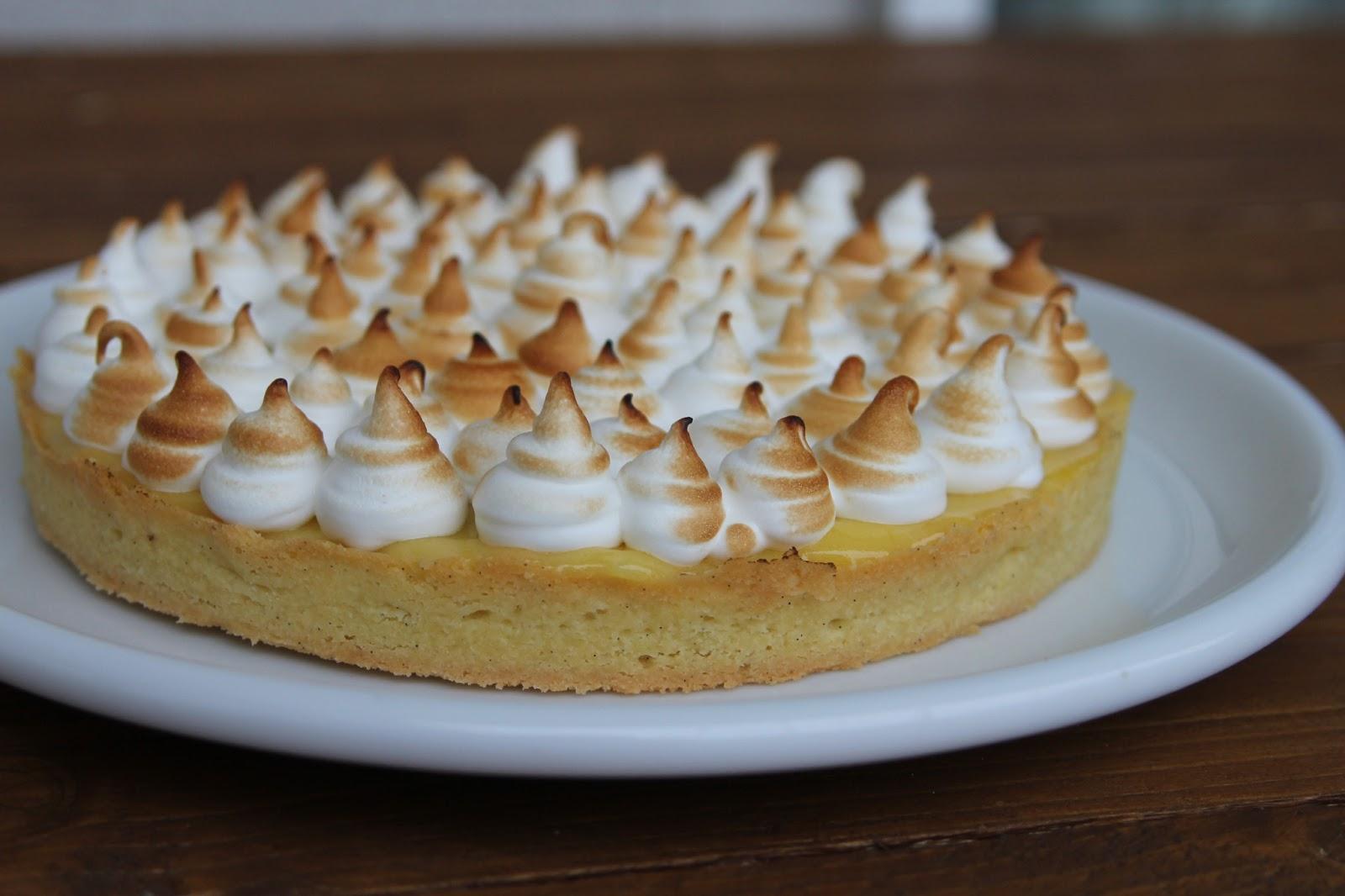 A manger et voir tarte au citron cr me de noisette et - Tarte au citron meringuee herve cuisine ...