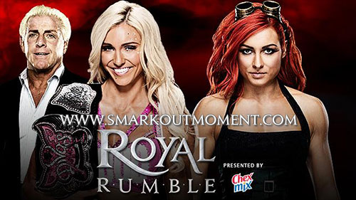 WWE Royal Rumble 2016 Charlotte vs Becky Lynch Match
