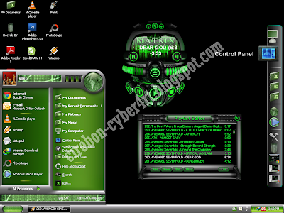 Mengubah Tampilan Windows XP dengan Matrix Skin Pack 2.0