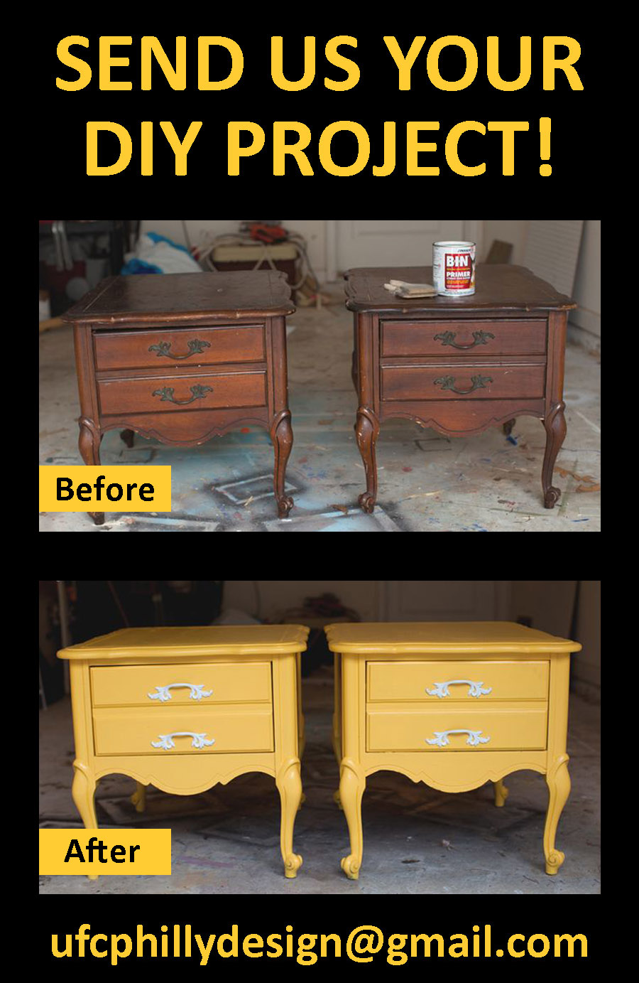 Send us your before & after Uhuru Furniture!