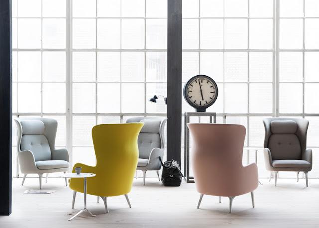 Ro Sessel von REPUBLIC OF FRITZ HANSEN - Ohrensessel für Gemütlichkeit