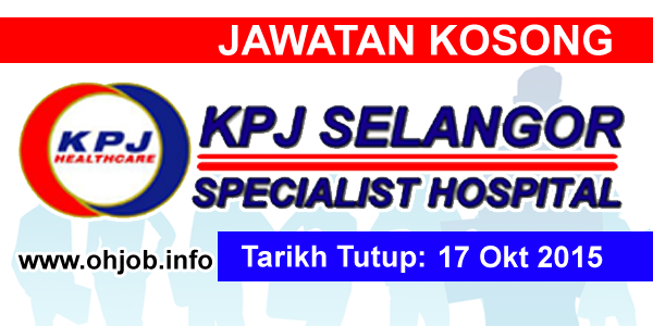 Jawatan Kerja Kosong KPJ Selangor Specialist Hospital logo www.ohjob.info oktober 2015