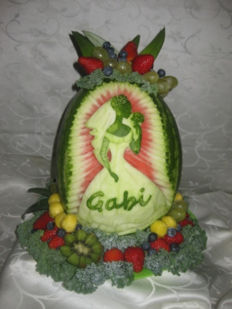 Fruit Platter Can Say It: Gabi\'s wedding shower